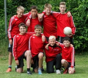 MTV Wangersen U14-Jungs