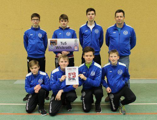 4.Platz für die mU16 bei der Norddeutschen Meisterschaft in Empelde